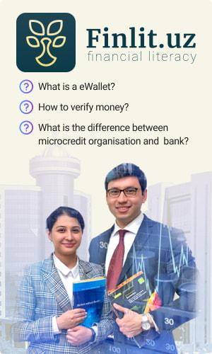 Educational website on financial literacy of the Central bank of Uzbekistan